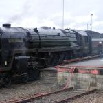 Steam Train at Penzance Train Station