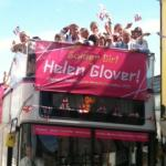 Helen Glover homecoming