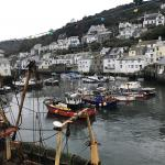 Polperro fishing village Cornwall