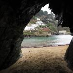 Polperro, Cornwall, Cave, Southeast Cornwall, fishing
