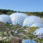 The Eden Project is an hours drive away at the most.